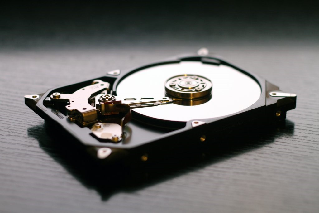 パソコンのストレージの確認方法