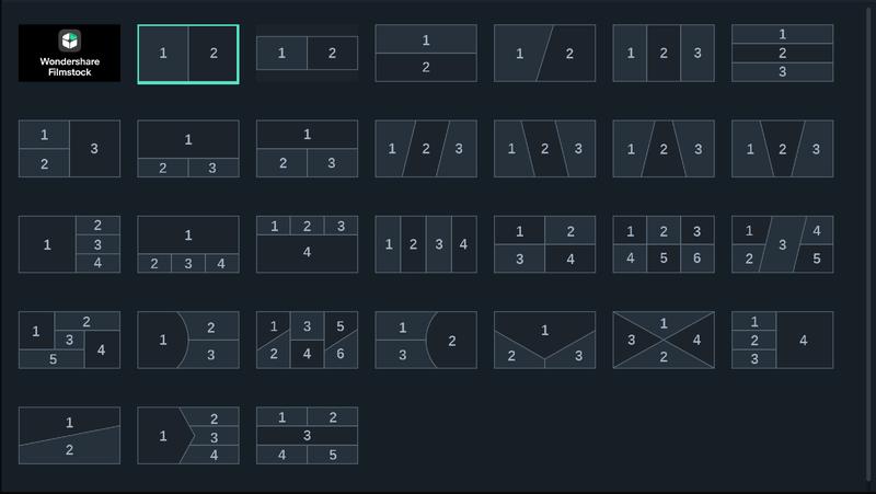 分割表示機能を使って表示する方法 3