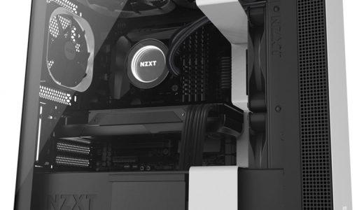 【NZXT H400】ホワイトとブラックのバランスが良いオールスチール構造のケース