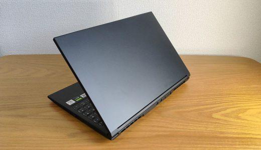 【GALLERIA GCL1650TGF レビュー】約10万円のGTX 1650 Ti搭載ミドルレンジのゲーミングノートPC