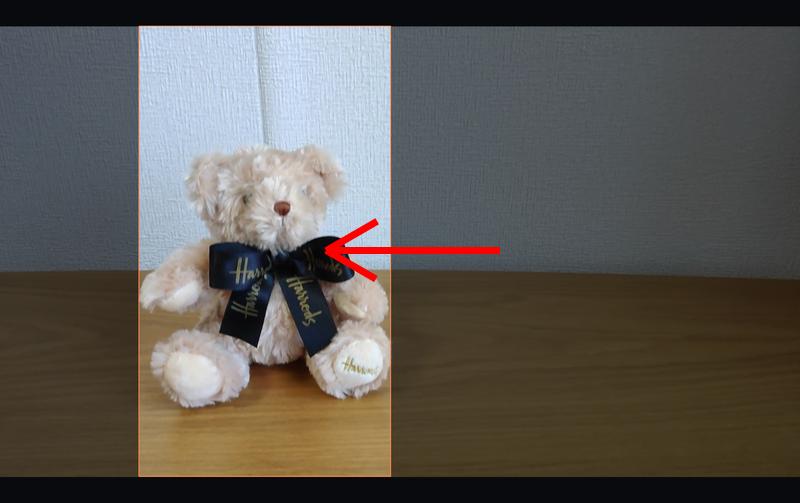 Filmora オートリフレームの使い方4