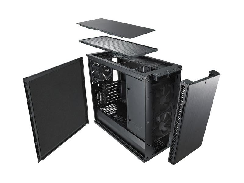 静音PC 防音材・吸音材付きケース1