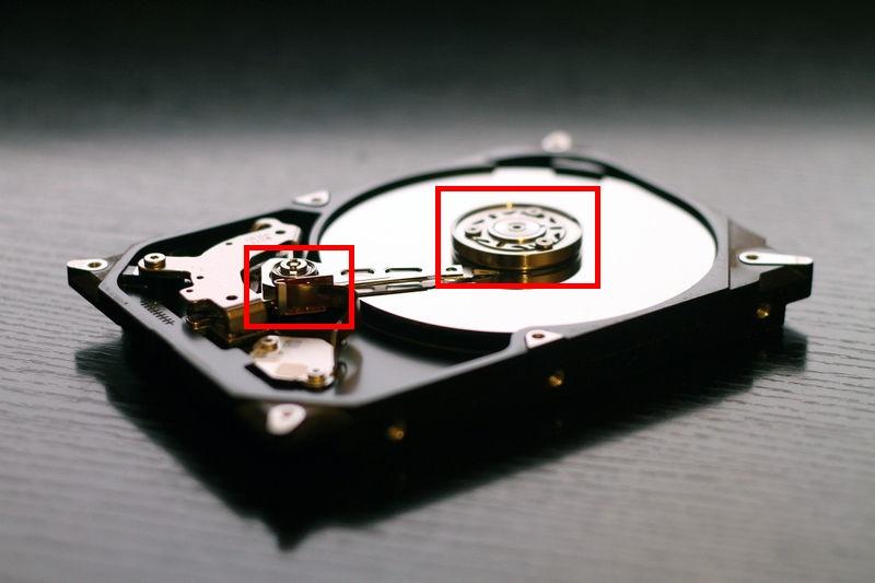 静音PC HDD内部