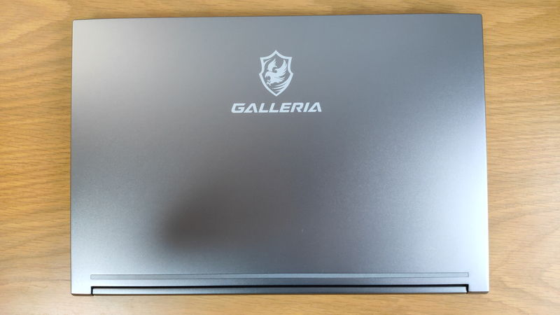 GALLERIA RL5R-G50Tの天板