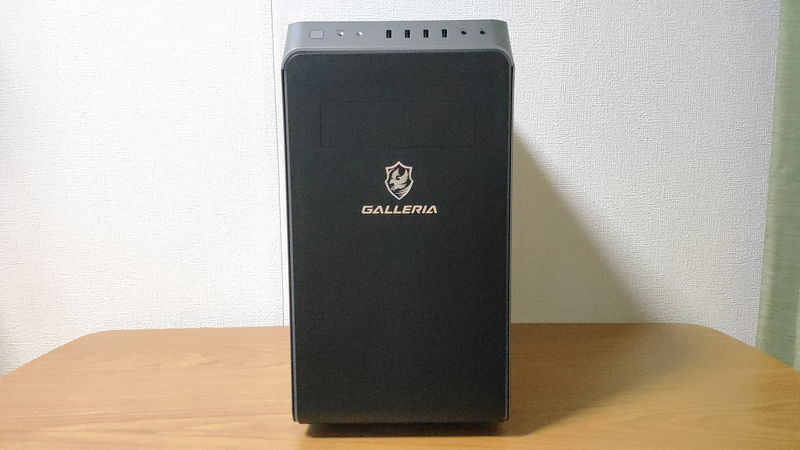GALLERIA RM5R-G60Sの正面
