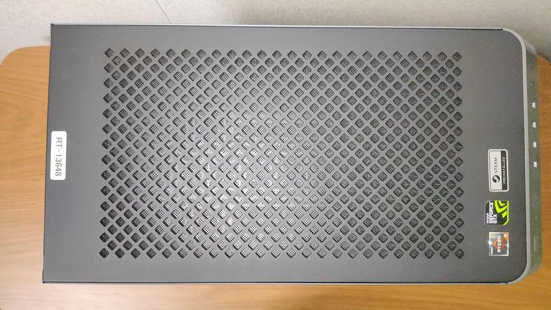 GALLERIA RM5R-G60Sの天板