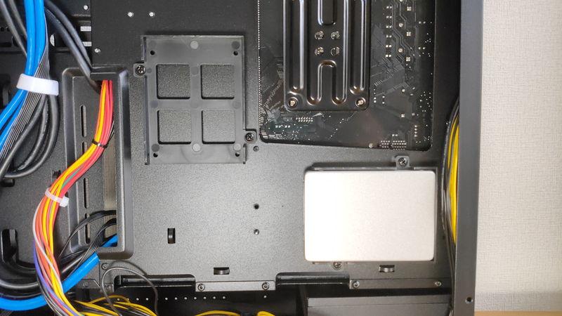 GALLERIA RM5R-R36のHDD・SSDスロット2