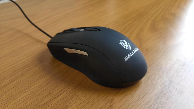 GALLERIA RM5R-R36付属のマウス(サイド)