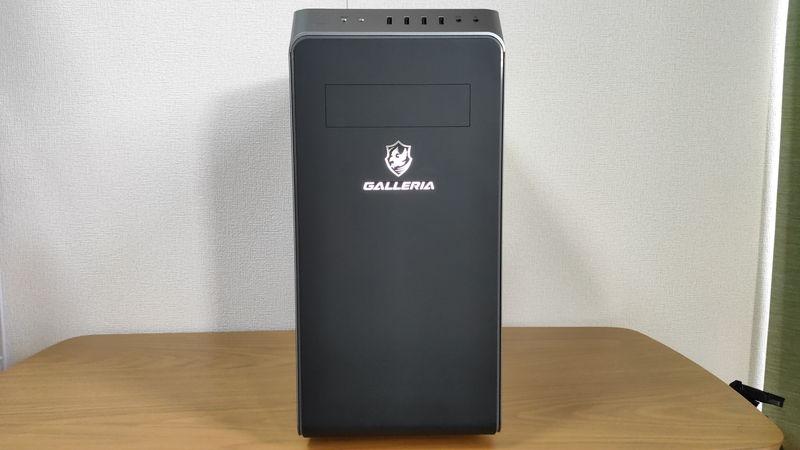 GALLERIA XA7C-G60Sの正面