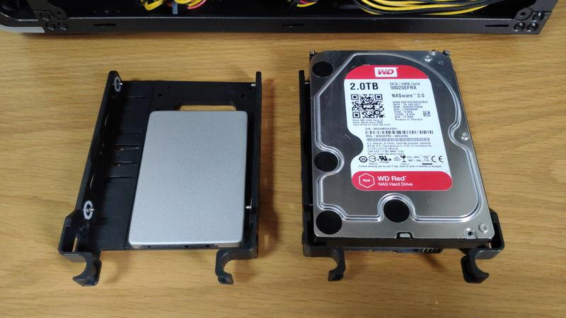 GALLERIA XA7C-G60SのHDD・SSDスロット3