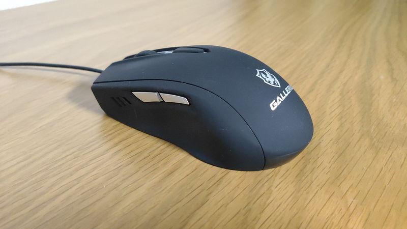 GALLERIA XA7C-G60S付属のマウス(サイド)