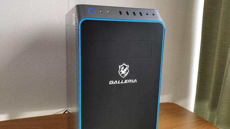 GALLERIA XA7R-R37のデザイン1