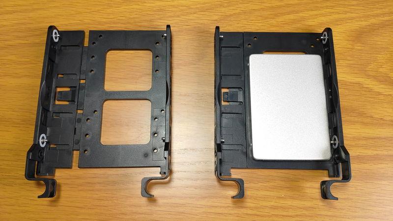 GALLERIA XA7R-R37のHDD・SSDスロット3