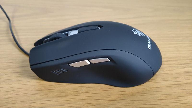 GALLERIA XA7R-R37付属のマウス(サイド)