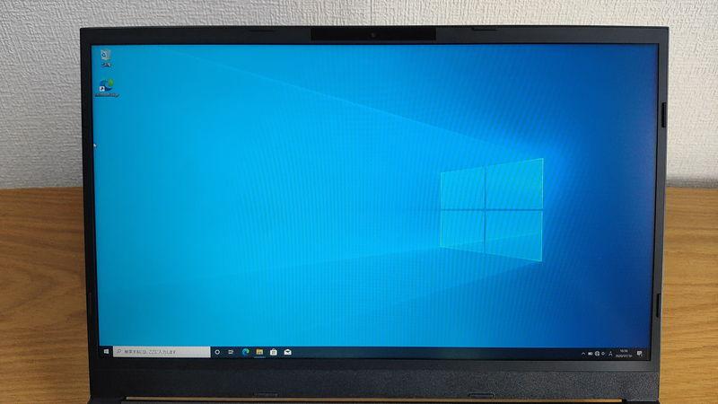 GALLERIA GCL1650TGFのデスクトップ画像