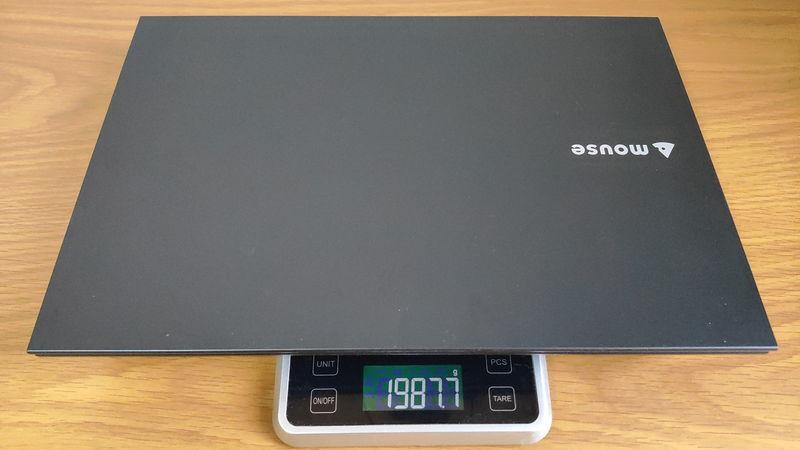 mouse F5の本体の重量